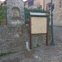 Bacheca In Acciaio Corten Fabbro Verona 34
