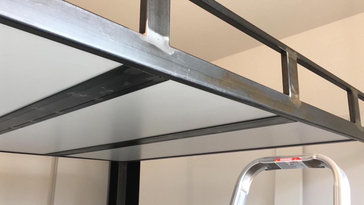 Letto A Soppalco In Ferro soppalco letto in ferro su misura - fabbro verona artigiana